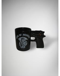 Sons of Anarchy Gun Mug @Stephanie Close Van Berkom I think everything is mix and match buy one get one half off if you were getting dad something this and the tshirt for matt