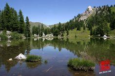 Laghetto di Lagusel - Val di Fassa, Dolomiti