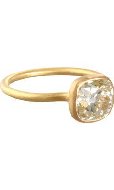 Munnu Rose Cut Diamond Ring