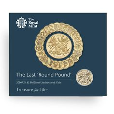Royal Mint New Release: The Last Round Pound Coins - Coin Community Forum