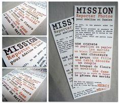 mission pour les invités