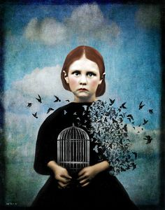 and you fly here on earth: August 2013Beth Conklin is a photographer and digital artist from Birmingham, Alabama. She studied photography at The University of Alabama, Birmingham, but is primarily self-taught in the area of digital art and collage.