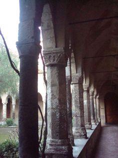 chiostro San Francesco, Sorrento, Italy
