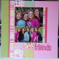 Hey...I know those ladies....Personalscrapper Feb 2011 kit ~  love Addie's work!