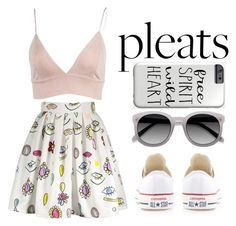 """#218"" by lollaskye ❤ liked on Polyvore featuring Ace and Converse"