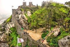 Os 10 mais bonitos castelos de Portugal - Castelo dos Mouros (Sintra)