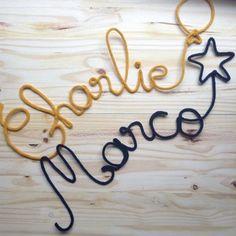 mots en laine prénom en laine tricotin www.monshopvintage.com