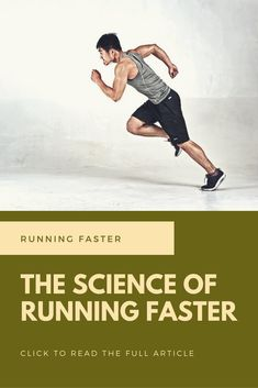 Running Training Tips: Learn about the science behind a faster running pace
