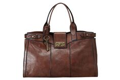 Fossil Vintage Shopper. The classic design of the bag makes my heart jump. Beautiful.