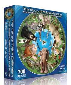Look what I found on #zulily! Animal Arena Puzzle by The Round Table Collection, 700 pieces, $9 !! #zulilyfinds