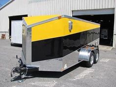 7 x 14 SA V Nose Enclosed Trailer Cargo Trailer Other Sizes Quoted 2540 00 | eBay