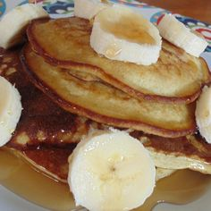 "No Milk, No Wheat, Banana Pancakes I ""These are absolutely fantastic for a super simple and very healthy recipe."""