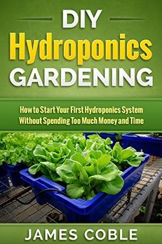 Hydroponics : DIY Hydroponics Gardening : How to Start Your first Hydroponics System Without Spending Too Much Money and Time.: (Hydroponics, Aquaponics, ... grow lights, hydrofarm,Organic Gardening) by James Coble http://www.amazon.com/dp/B0145ATLWI/ref=cm_sw_r_pi_dp_dsD4vb1GHME7S