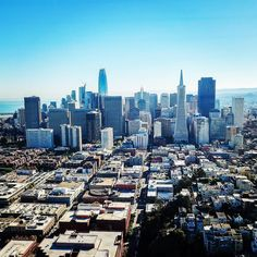 The #SanFrancisco cityscape  via @djiglobal #MavicPro. #California #USA