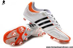 Cheap Adidas adiPure 11Pro TRX FG - Running White-Black-High Energy Football Shoes On Sale