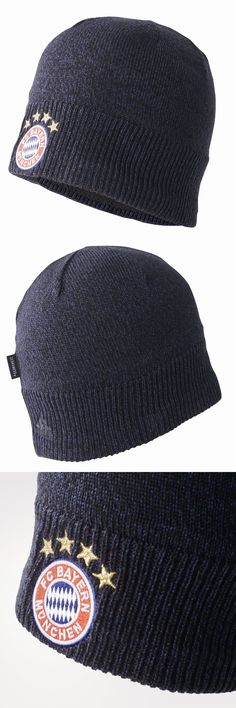 67d93e4b50b Hats and Headwear 123876  Adidas Mens Football Fc Bayern Munich Fcb Beanie  Knitted Winter Warm