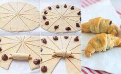 #Croissant #Cuernito #Hojaldre #Chocolate #Comida #Facil #IdeasComida