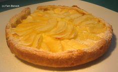 Apfel Tarte mit Vanillecreme