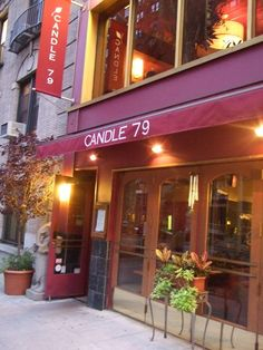 Candle 79, New York City. My favorite place in the world
