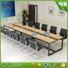 Cheap price factory direct metal legs oem 10 seater conference table