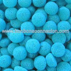 Blue raspberry gummy munchies - Munchies gélifiés à la framboise bleue.#gummycandy #bonbongélatine