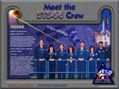 STS-96 Crew poster