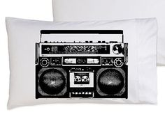 A Boombox Is Not A Toy pillowcase funny pillow cover by Royalkane, $11.99