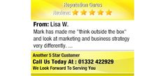 """Mark has made me """"think outside the box"""" and look at marketing and business strategy very..."""