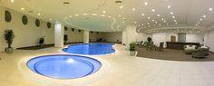 Indoor Pool & Lounge Area
