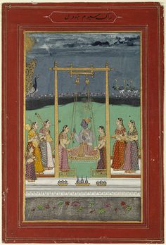 Miniature Paintings from 17th- and 18th- Century India Capture Moods of Music and Poetry at Williams College Museum of Art