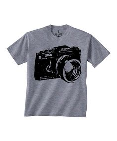 Gray Camera Tee - Toddler & Kids #zulily #zulilyfinds