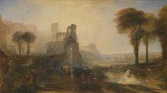 "Joseph Mallord William Turner,  ""Caligula's Palace and Bridge"",  exhibited 1831"