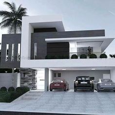 Modern Exterior Design Ideas Will Enhance The Aesthetic Values Of Your House Modern House Plans, Modern House Design, Modern Architecture House, Interior Architecture, Architecture Facts, Modern Exterior, Exterior Design, Facade House, House Facades
