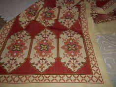 Cross Stitch Embroidery, Bohemian Rug, Rugs, Pattern, Fabrics, Decor, Towels, Farmhouse Rugs, Cross Stitch