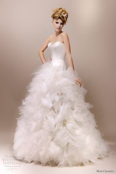 Max Chaoul Couture 2013 Wedding Dresses | Wedding Inspirasi | Page 2