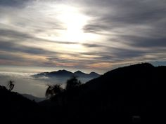 Sunset near Daman ~ Nepal