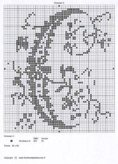 Gallery.ru / Фото #57 - MONOGRAMS 3 - aaadelayda Monogram Cross Stitch, Cross Stitch Alphabet, Cross Stitch Charts, Quilt Stitching, Cross Stitching, Cross Stitch Embroidery, Crochet Doily Patterns, Stitch Patterns, Monogram Alphabet