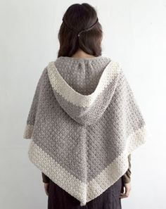 crochet shawl with hood
