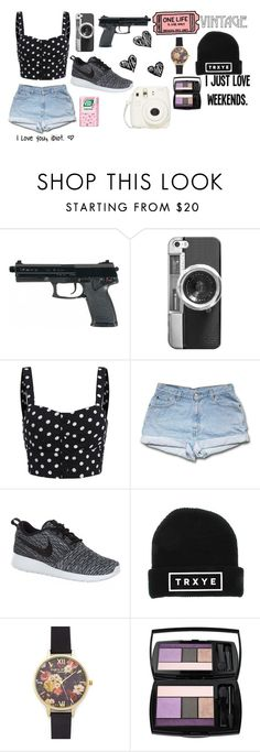 """""""My Computer Was Being Stupid"""" by juststopandbreath on Polyvore featuring beauty, Casetify, NIKE, Olivia Burton and Lancôme"""