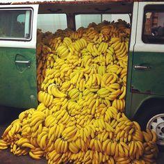 Una valanga di banane!