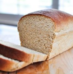 The Very BEST Whole Wheat Bread • FIVEheartHOME Best Wheat Bread Recipe, Best Whole Grain Bread, 100 Whole Wheat Bread, Homemade Sandwich, Yeast Bread Recipes, Homeade Bread, White Wheat Bread, Real Food Recipes, Breads