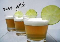 Beer Jello from Sugar Swings