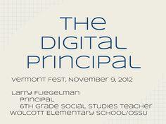 Lightening-Fast Teacher Feedback. The Digital Principal, Part 1