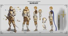 Character And Setting, Game Character Design, Character Concept, Character Art, Character Ideas, Character Model Sheet, Character Modeling, Armor Concept, Concept Art