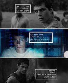 Dylan O'Brien as Thomas #TheMazeRunner