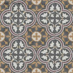 Cement Tile Shop - Handmade Terrazzo Cement Tile | Roseton Red