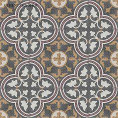 Cement Tile Shop - Handmade Terrazzo Cement Tile | Roseton Red