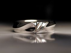 Image result for mens unique diamond wedding bands