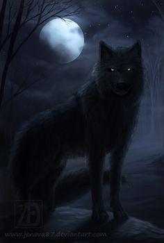 OC: Dark Wolf Kai by Jenova87.deviantart.com on @deviantART
