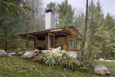 modern cabin | reconciling a desire for a functional and modern cabin that impacts ...
